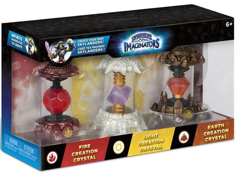 Skylanders: Imaginators - Fire Creation Crystal, Earth ...