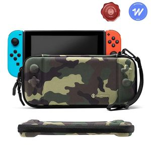 tomtoc Slim Hard Case Camouflage for Nintendo Switch