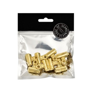 BNT 25mm Edge Bulldog Binder Clip Gold [8 Pack]
