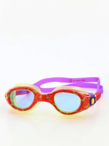 Zoggs Junior One Piece Wonder Woman Goggle Red/Blue