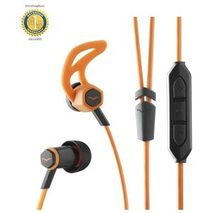 V-MODA Forza In-Ear Hybrid Sport Headphones with 3-Button Remote & Microphone Orange [For Samsung and Android Devices]