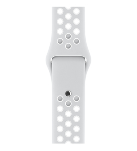 Apple Watch Nike+ Pure Platinum/White Sport Band 38mm [S/M] - [M/L]