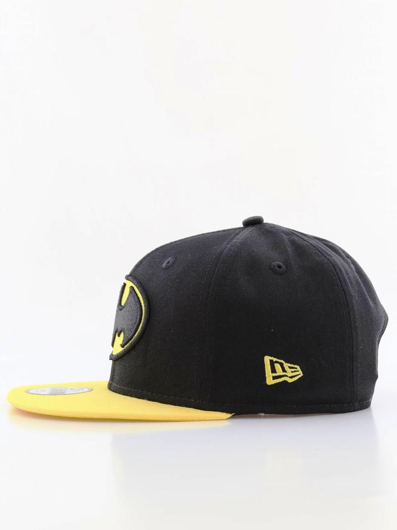 555fb24a9 New Era Essential Batman Flat Brim Youth Boys Cap Black
