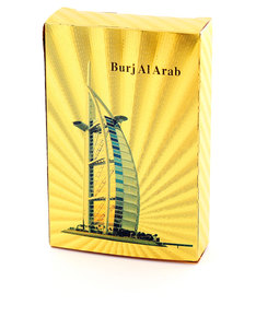 Burj Al Arab Gold Foil Plated Playing Cards [Style 1]