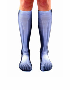 Living Royal X Ray Unisex Knee High Socks