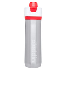Aladdin Active Hydration Stainless Steel Vacuum Insulated Water Bottle Red 0.6L