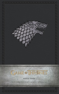 Game Of Thrones House Stark Hardcover Ruled Journal Large