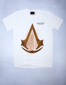 Assassin's Creed Carved Icon White T-Shirt