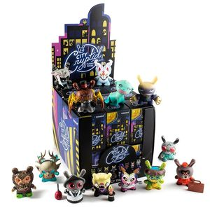 Kidrobot City Cryptid Multi-Artist Dunny Art Figure Series Blind Box [Includes 1]
