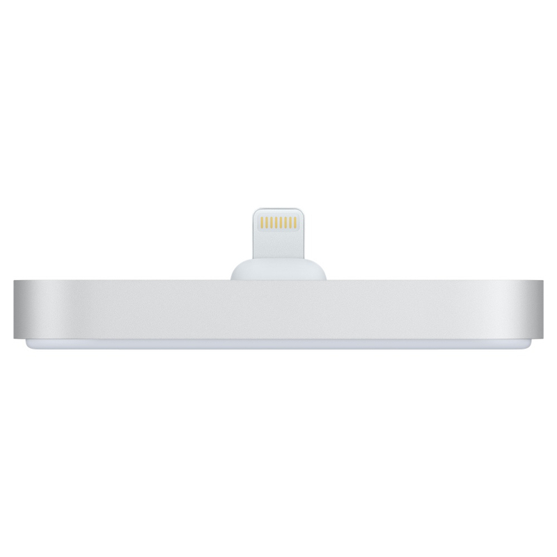 Apple Lightning Dock Silver iPhone