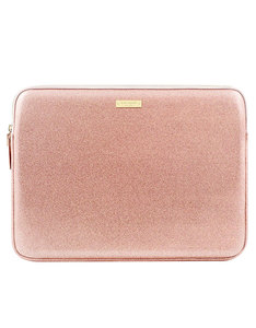 KATE SPADE NEW YORK GLITTER SLEEVE ROSE GOLD GLITTER MACBOOK AIR/PRO 13
