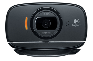 Logitech C525 HD USB Webcam Black