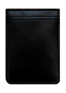 iDecoz Black Leather Phone Pocket
