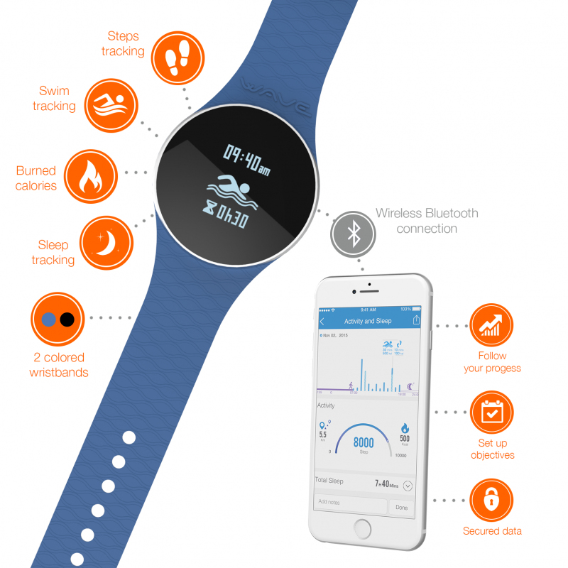 Ihealth Am4 Activity Swim & Sleep Tracker