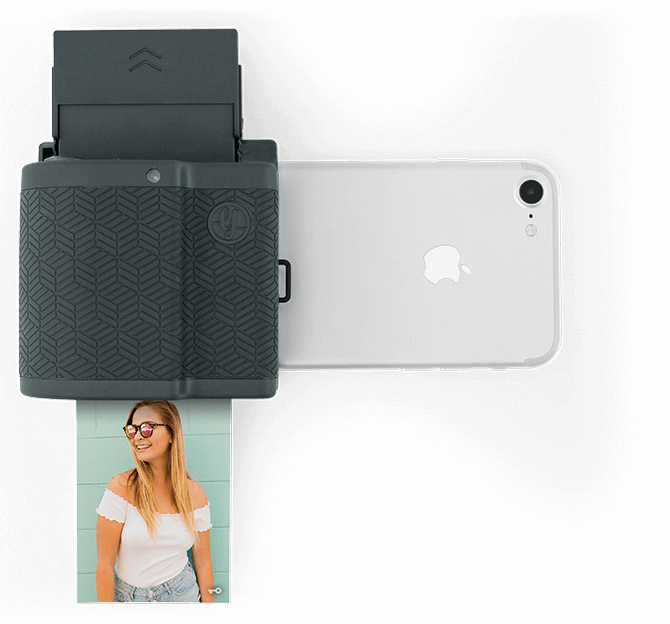 instant photo printer for iphone prynt pocket instant photo printer graphite for iphone 17325