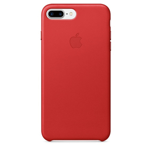 Apple Leather Case Red iPhone 7 Plus