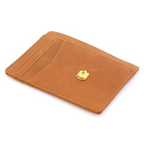 Rovatti L Brown Card Holder 2