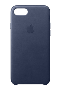 Apple Leather Case Midnight Blue for iPhone 8/7