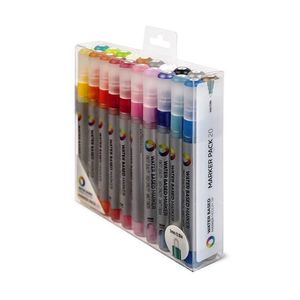 Montana Colors Water Based Markers Medium 5 mm [Pack of 20]