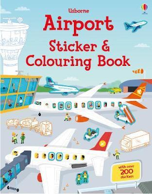 Airport Sticker and Colouring Book | 4 to 8 Years | Kids + Teens ...