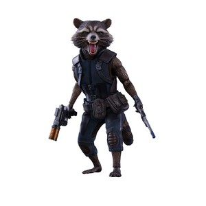 Sideshow Rocket Regular GOTG V2 MMS Sixth Scale Figure