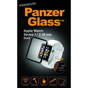 PanzerGlass Premium Screen Protector for Apple Watch Series 1/2/3 38mm