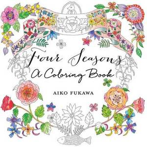 Four Seasons Colouring Book
