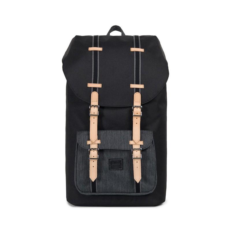 8b2242f85cd Herschel Little America Black Black Backpack