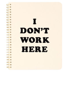 Ban.do Rough Draft Mini Notebook I Don't Work Here