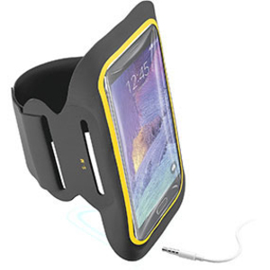 CellularLine Black Armband Fitness For Smartphones 5.5 Inch