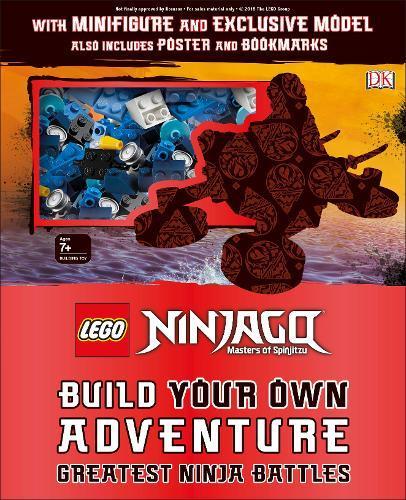 LEGO NINJAGO Build Your Own Adventure Greatest Ninja Battles: with  minifigure and exclusive Model