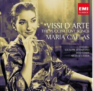 PUCCINI: VISSI D'ARTE THE LOVE SONGS