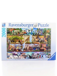 Ravensburger Wild Animal Kingdom 2000 Pcs Puzzle