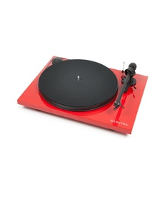 Pro-Ject Essential II Digital Red Om5E Turntable
