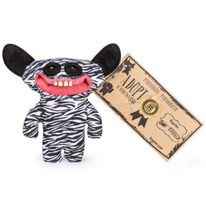 Fuggler Plush Black & White Stripes