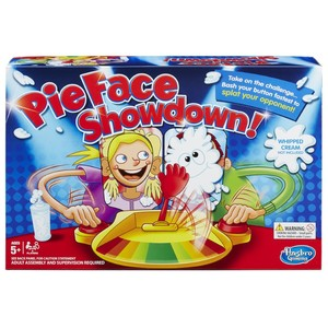 HASBRO PIE FACE SHOWDOWN BOARD GAME