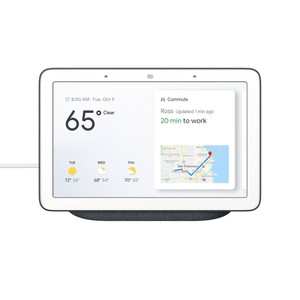Google Home Hub Charcoal with Google Assistant