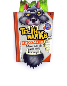 Teeth-Marks Bookmarks Wolf