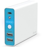 Iluv 10400Mah 2 Usb White Power Bank