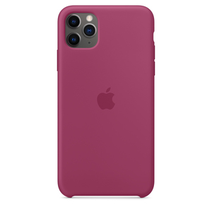 Apple Silicone Case Pomegranate for iPhone 11 Pro Max