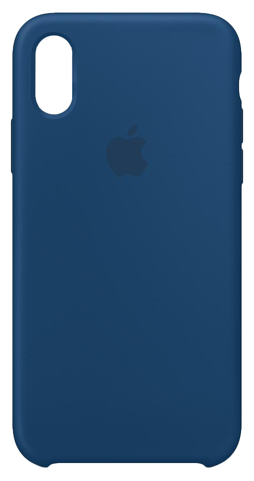 watch 550d0 b57ff Apple Silicone Case Blue Horizon for iPhone XS