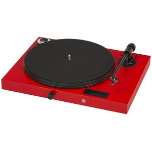 Pro-Ject Juke Box E Turntable Red