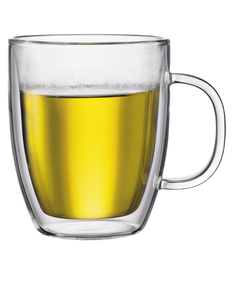 Bodum Bistro Double Wall Mug 0.45L [Set of 2]