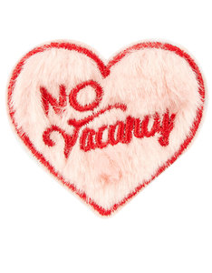 SKINNY DIP NO VACANCY PINK IRON-ON PATCH