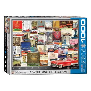 Eurographics Cadillac Advertising Collection 1000 Pcs Jigsaw Puzzle