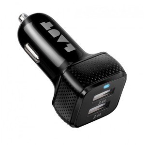 Laut Power Dash 4.8A Black Car Charger