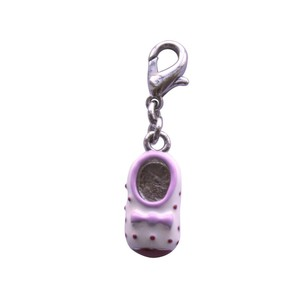 BOMBAY DUCK SPOTTY BABY SHOE CHARM