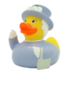 Lilalu The Queen Rubber Duck