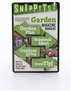 Snippits Magazine Page Markers Garden