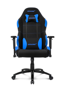 AKRacing Core Black/Blue Gaming Chair Extra Wide